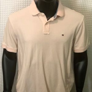 Tommy Hilfiger Shirts - Tommy Hilfiger Light Pink Polo